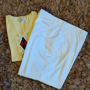 Burberry Golf Crop Pant